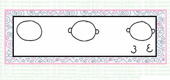 ABC To Drawing Valentine Card Idea How to draw a valentine baby card
