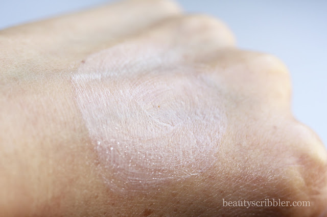Sunumbra SPF30 natural sunscreen swatch
