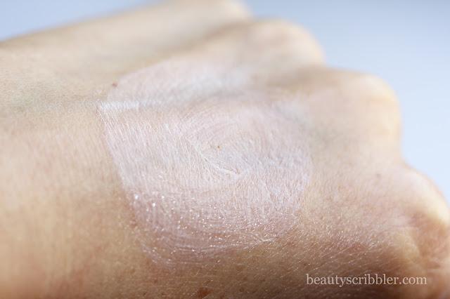 Sunumbra SPF30 natural sunscreen swatch