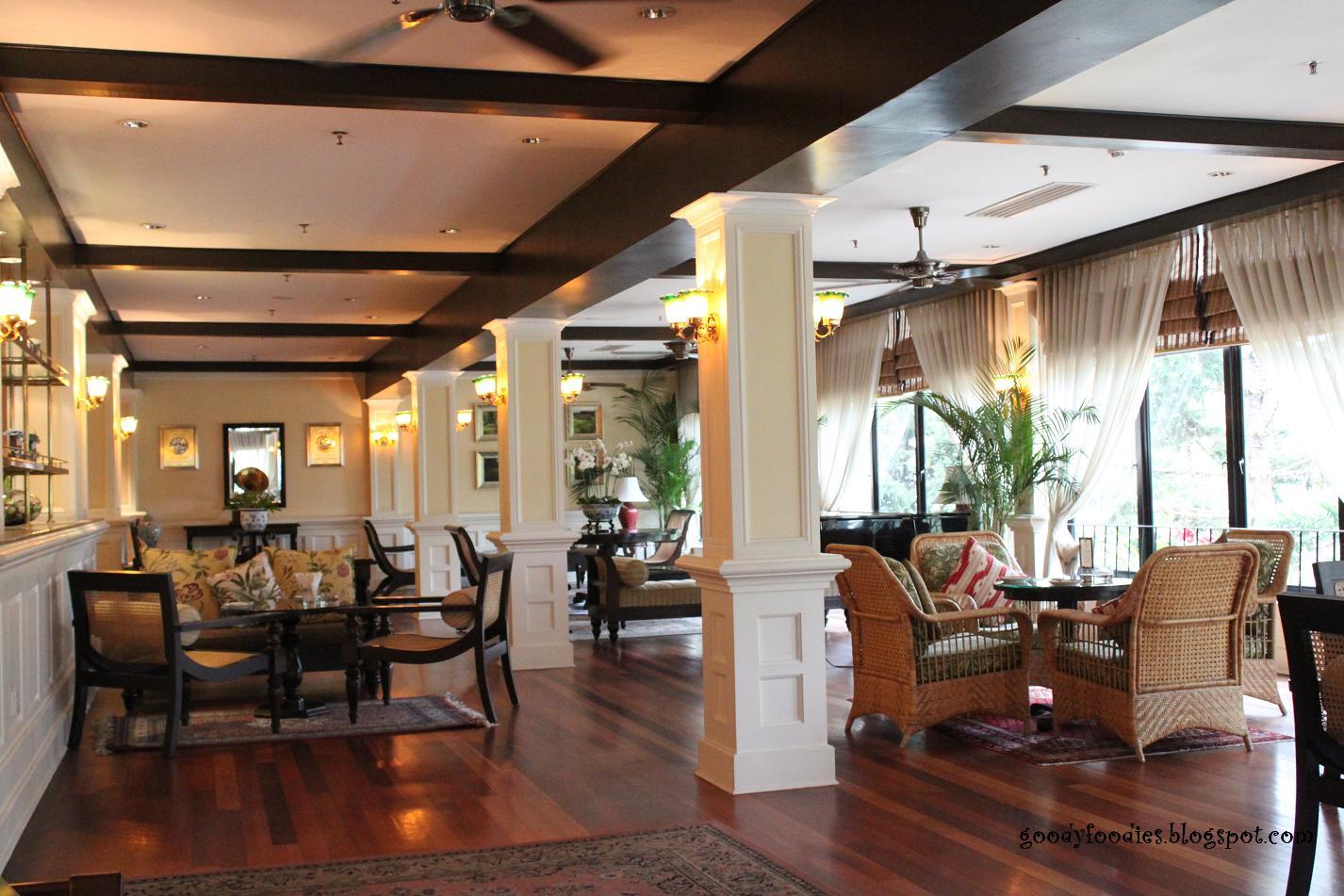 Jim Thompson Tea Room At Cameron Highlands Resort