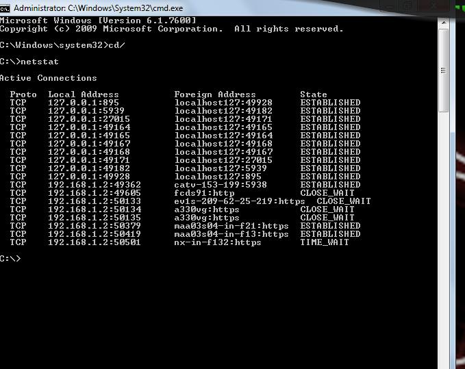 netstat command Netstat command in windows server 2008 md command in windows server 2008 pnputil command in windows server 2008 bdehdcfg driveinfo command in windows server 2008.