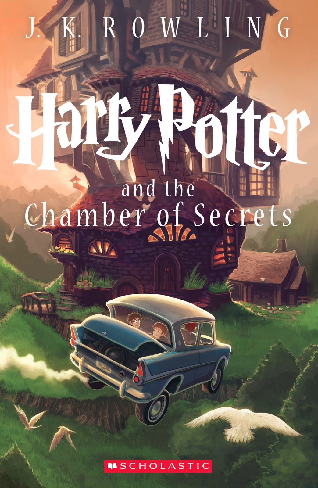 Paperback Book Cover : New special edition cover of harry potter and the chamber
