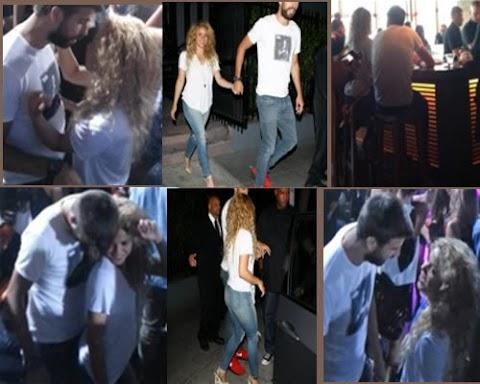 Shakira Pictures Con Piqué En Club de Los Ángeles
