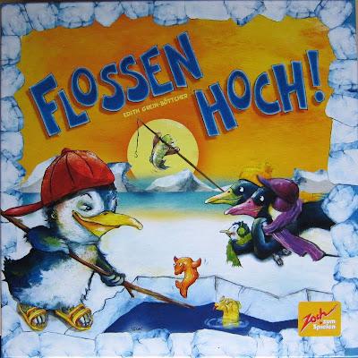 Flossen Hoch - The box artwork