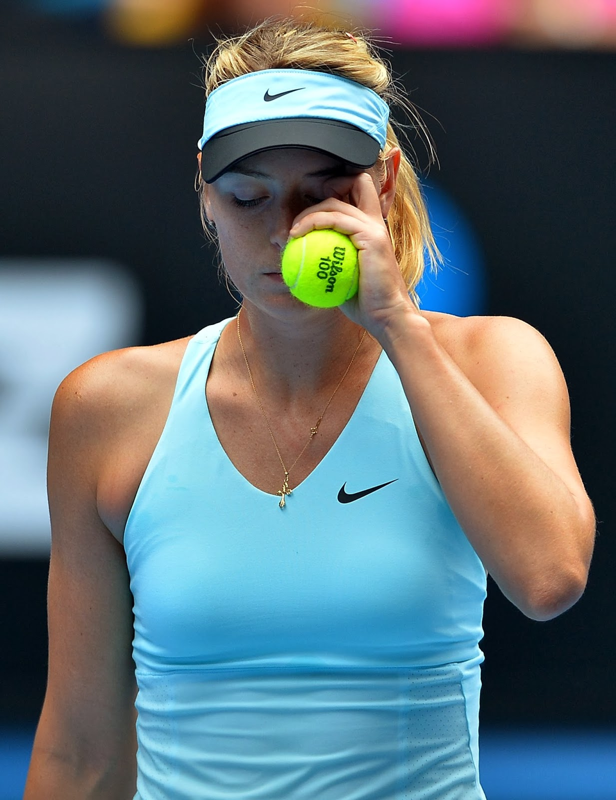 Slovakia, Dominika, Sports, Tennis, Russia, Maria Sharapova, Women, Singles, Match, Australian Open, 2014, Tournament, Melbourne, Cibulkova, Australia,