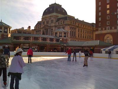 Providence skating pond
