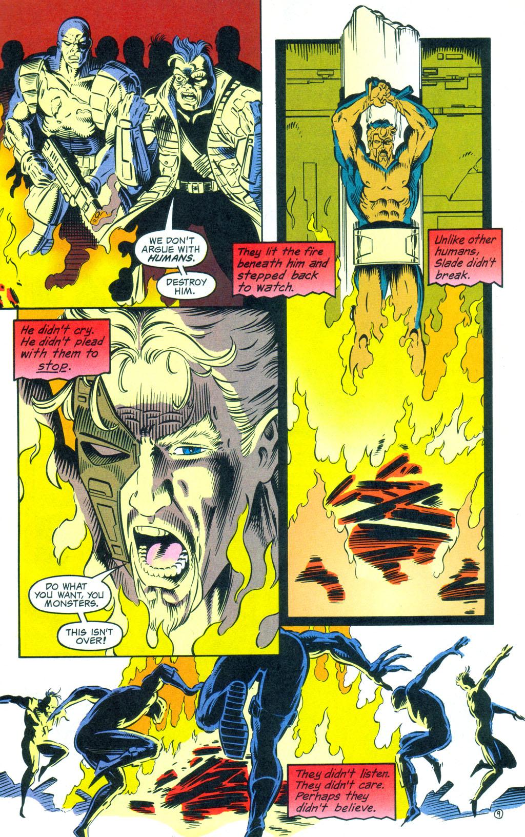 Deathstroke (1991) Annual 3 #3 - English 10