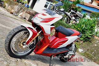 15 Modifikasi Motor Beat 2014