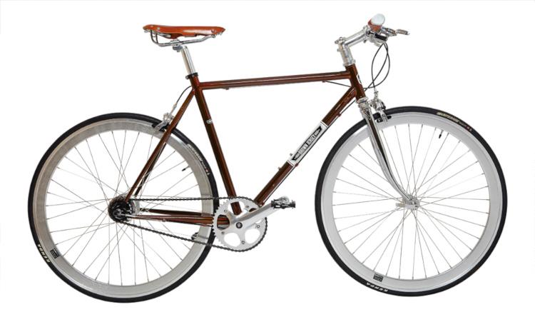 Brown Jersey New Spec Panel Van 5 Speed Internal Gear Hub Bike