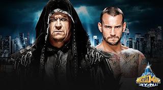 undertaker pretende extender su racha ante un cm punk que promete arrebatarsela, racha de hombre muerto en wrestlemania historia