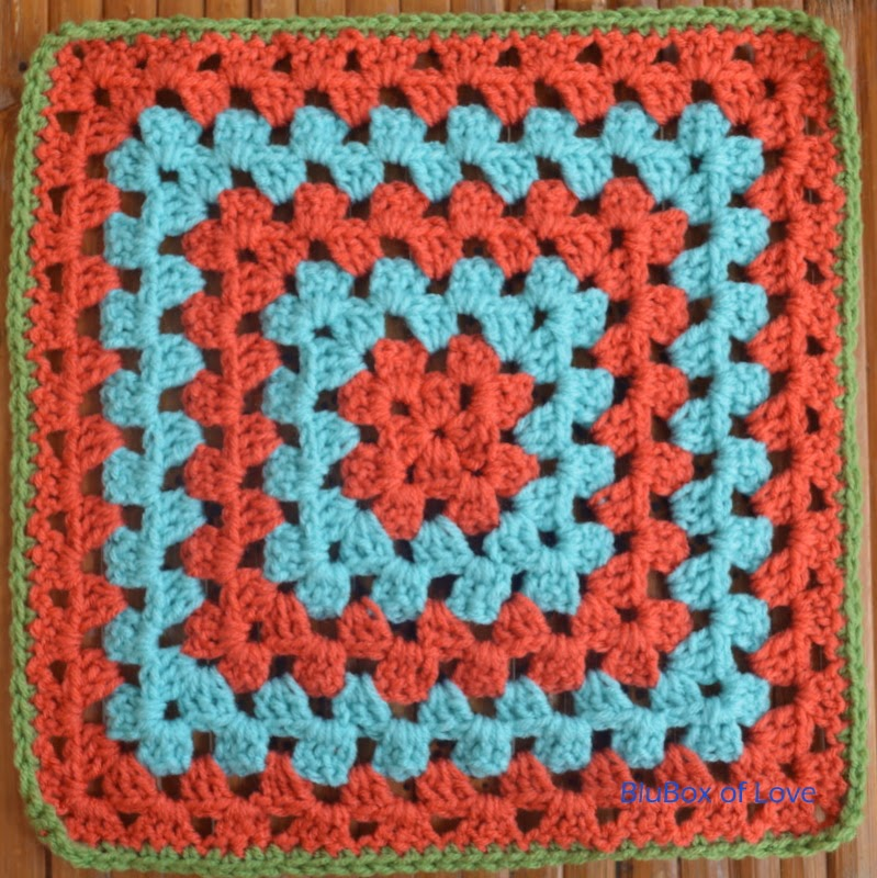 Stitch-cation Summer Challenge: Unique Granny Square