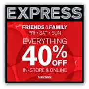 Express Promo codes