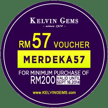 Kelvin Gems Jewellery Merdeka Free Voucher 2014-Merdeka57