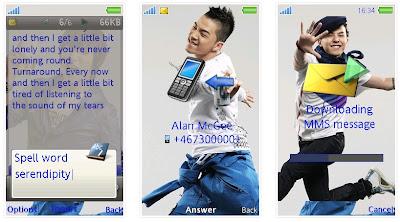 韓國組合BigBang SonyEricsson手機主題for Aino﹝240x432﹞