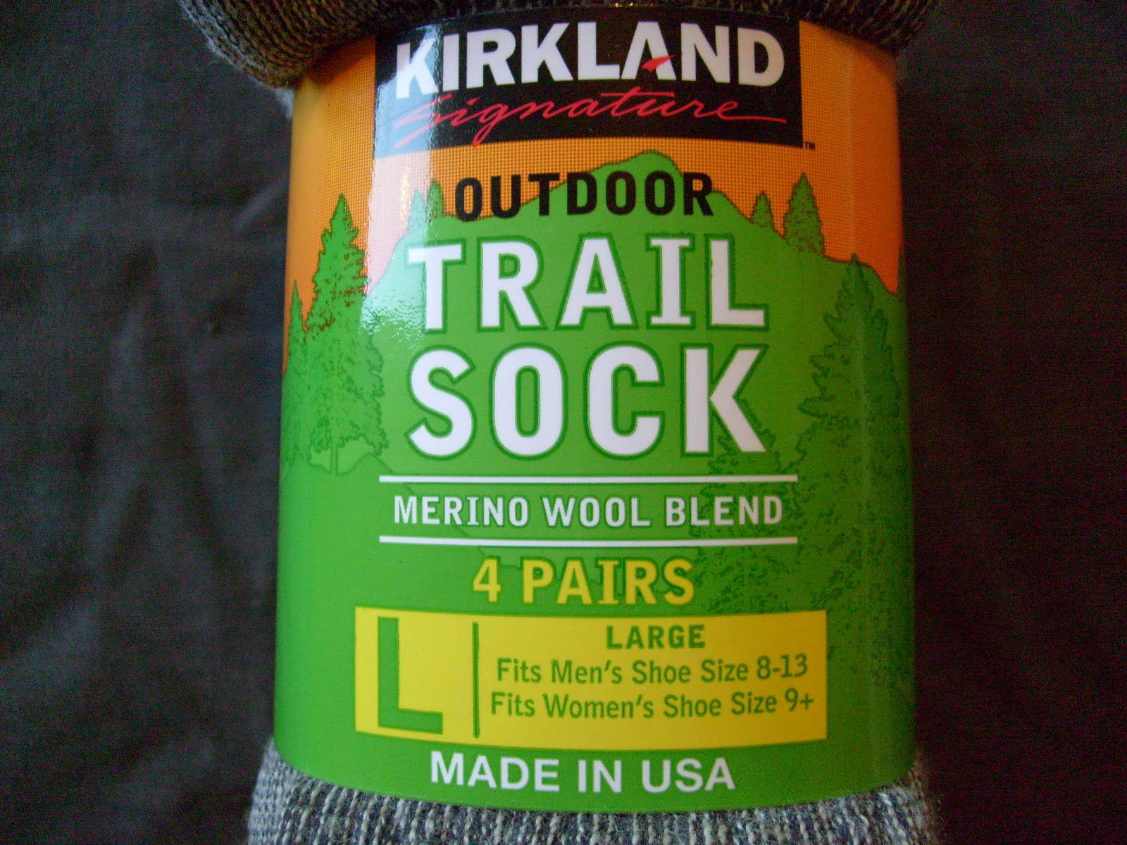 kirkland trail socks images