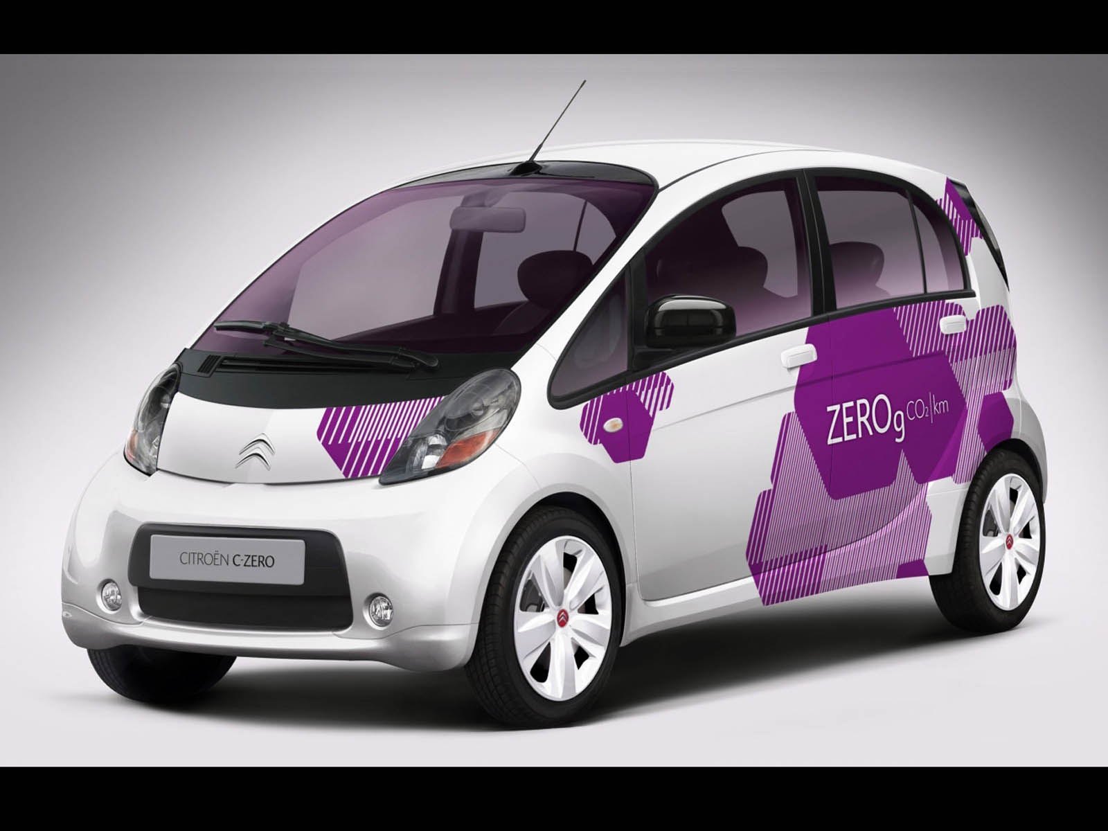 wallpapers citroen c zero car wallpapers. Black Bedroom Furniture Sets. Home Design Ideas