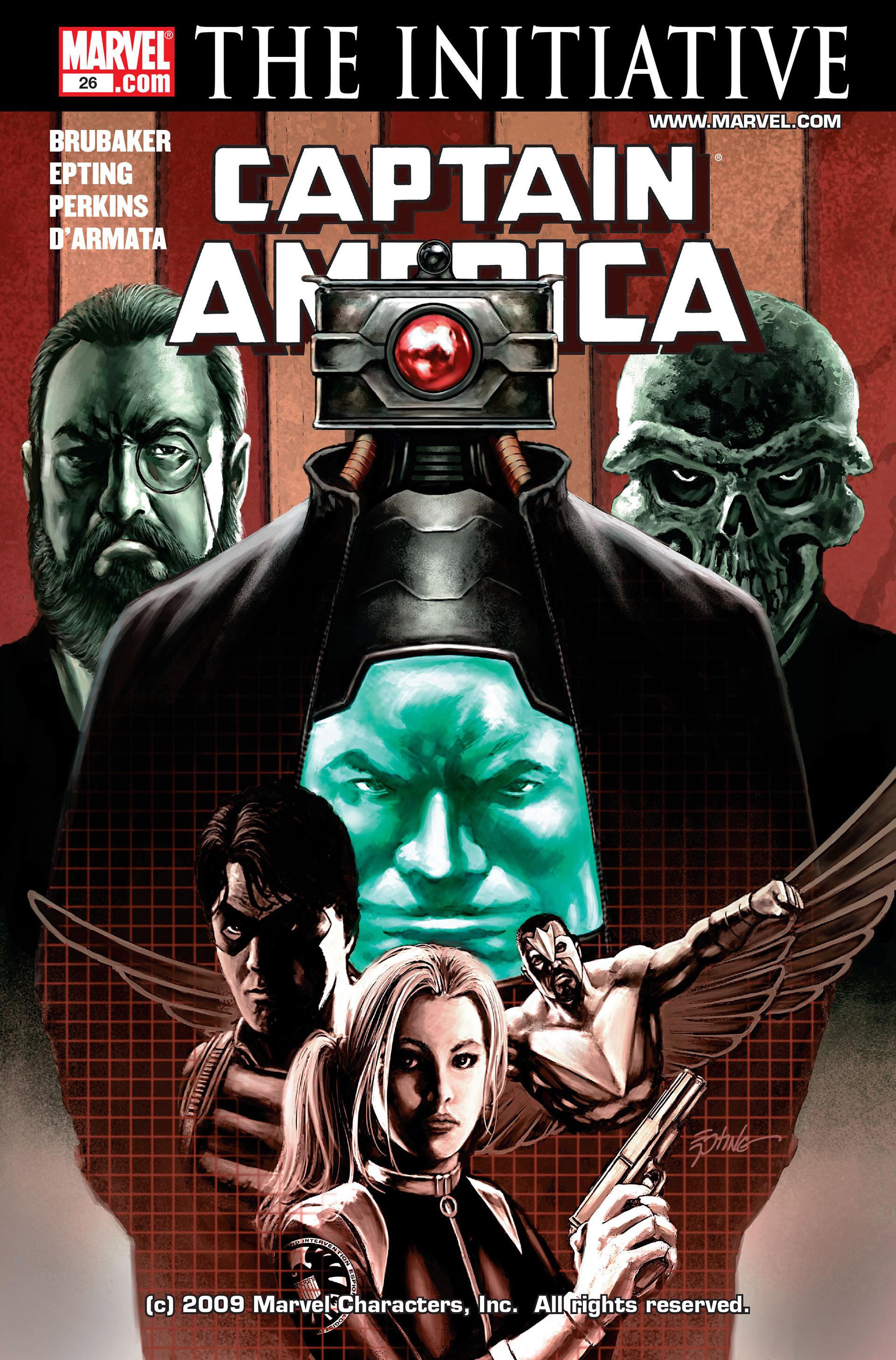 Captain America (2005) Issue #26 #26 - English 1