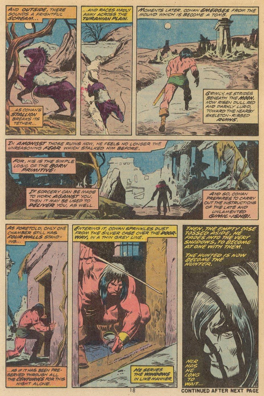 Conan the Barbarian (1970) Issue #38 #50 - English 13
