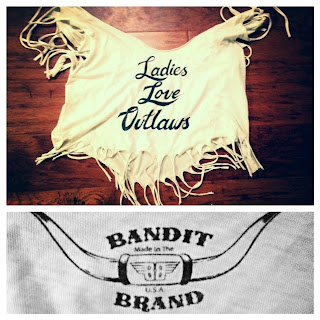 Bandit Brand clothing, Bandit Brand tshirts, tee, fringe tshirt, fringe top, Bandit Brand top, jean shorts and a tee, rock n roll tshirt, ladies love outlaws, summer nyc style, new york city casual look, comfortable and casual tops, nyc edgy tshirts, those kinds of girls, unique clothing in brooklyn, williamsburg brooklyn style, brooklyn clothing, emerging designers, local designers new York city