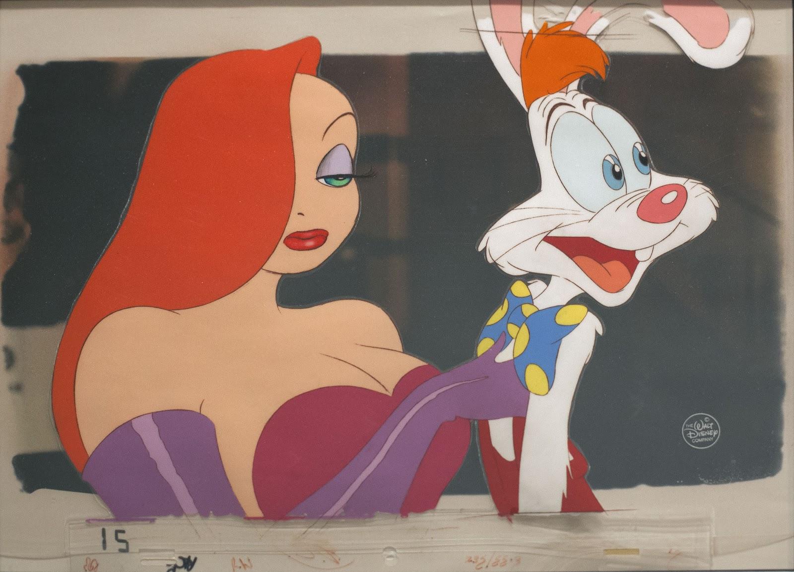 Jessica Rabbit With Roger Rabbit