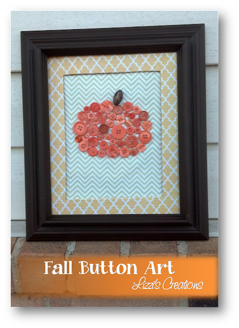 "alt=""Button Pumpkin Fall Art"""