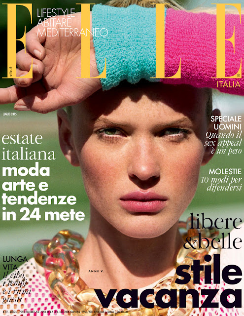 Actress, Fashion Model @ Anne Vyalitsyna by Matt Jones for Elle Italy, July 2015