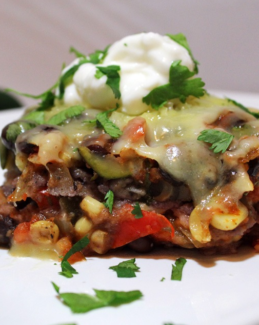 Vegetarian Enchilada Casserole Recipes — Dishmaps