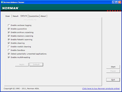 Norman Malware Cleaner 2.06.01 (2012.10.19)