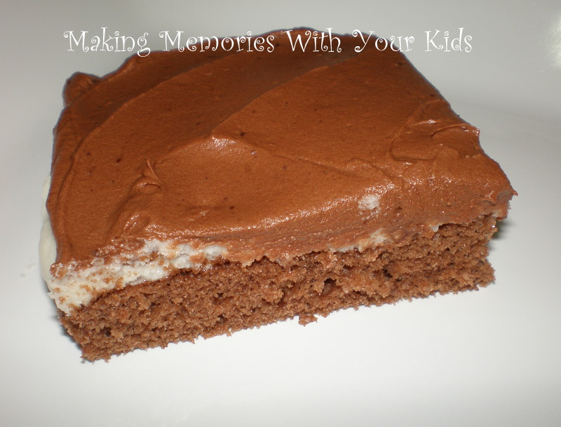 Ho Ho Cake & a Swagbucks Tip - Making Memories With Your Kids