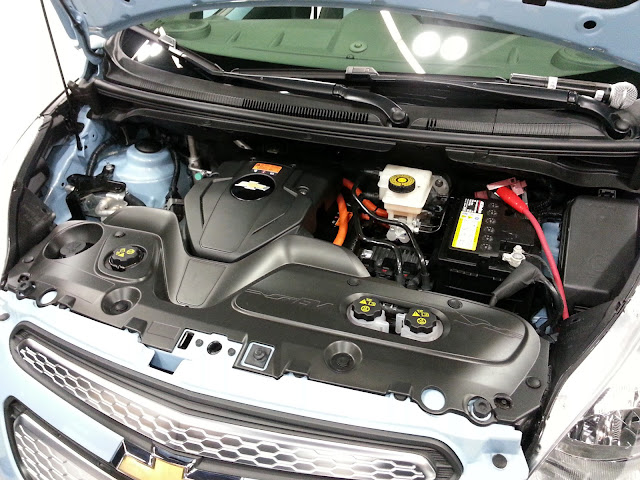 2014 Chevrolet Spark EV motor
