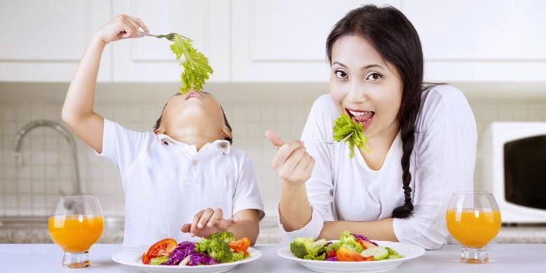 Solusi mengatasi anak yang sulit makan Sayur