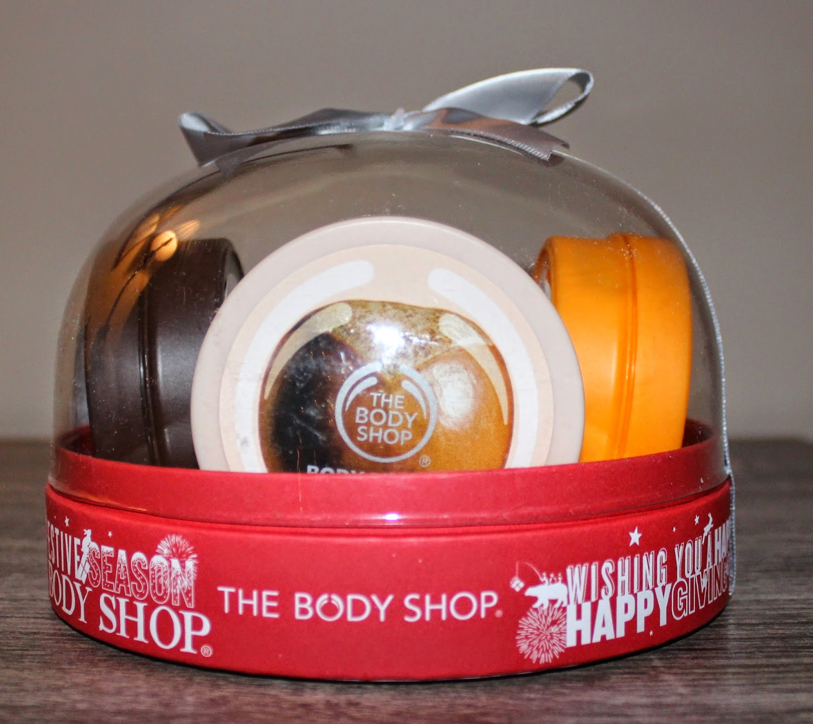 The Body Shop's The Best of Body Butter Snow Globe
