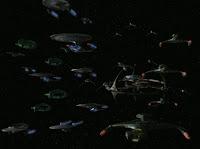 federation alliance departs for Cardassian space; Star Trek; Deep Space Nine; Klingons; Romulans