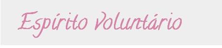 Espírito voluntário