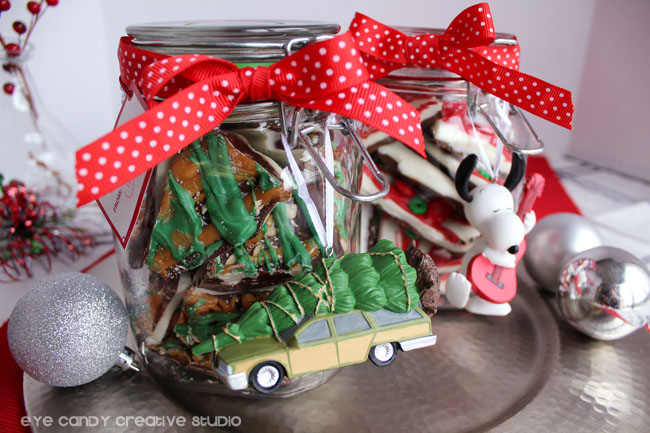 homemade hoiday gift idea, snoopy, hallmark, christmas vacation