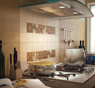 แบบกระเบื้องห้องครัว
