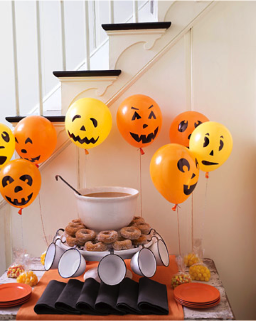 Globos decorativos halloween