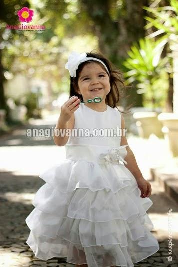 25 Vestidos de Festa Infantil