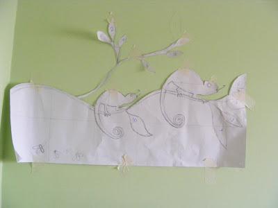Как сделать мозаику на стене. Мастер-класс 93855