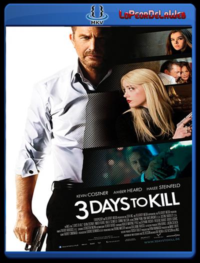 3 Días Para Matar (2014) DVDRip Latino