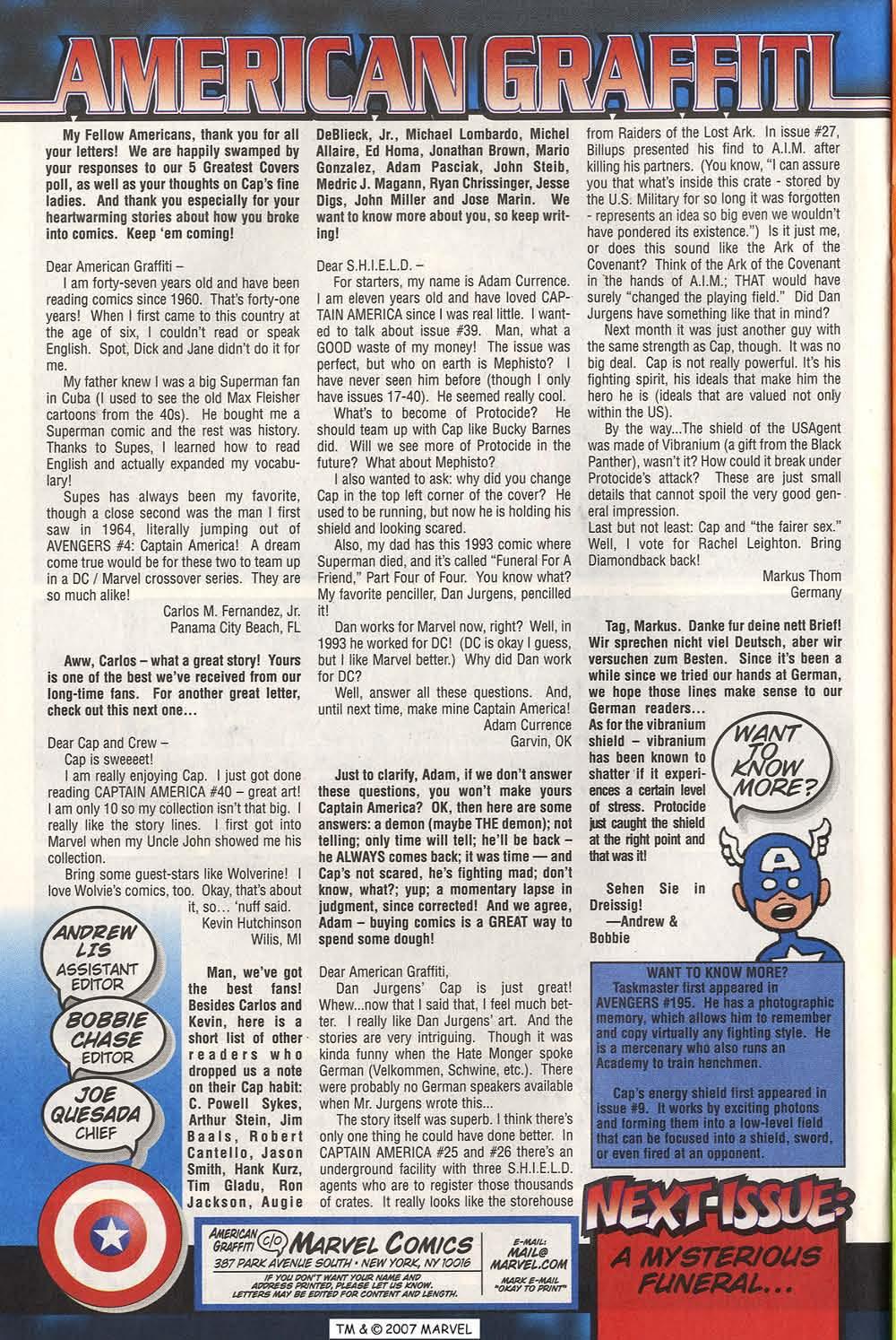 Captain America (1998) Issue #44 #51 - English 34
