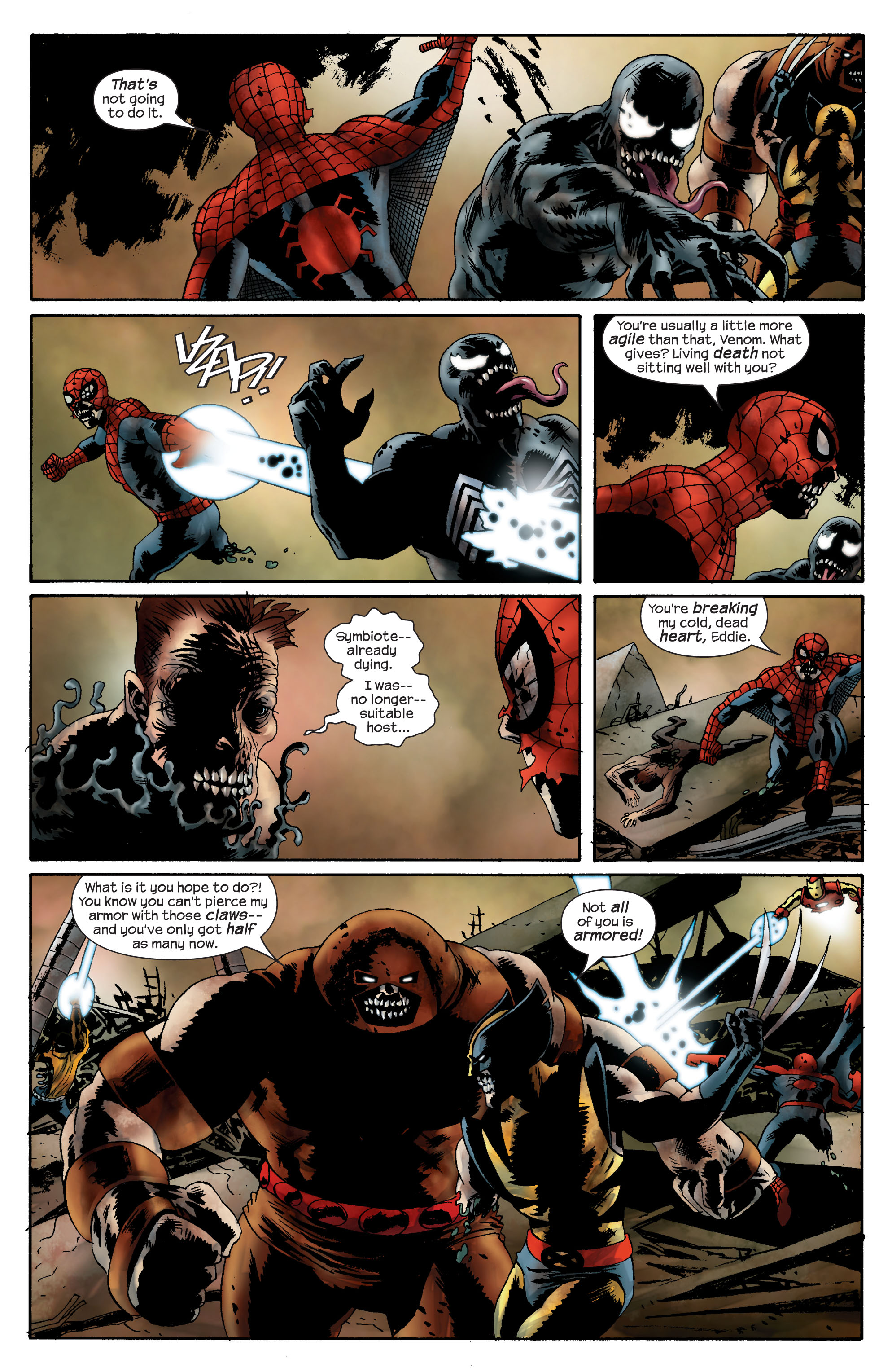 Marvel Zombies (2006) Issue #5 #5 - English 7