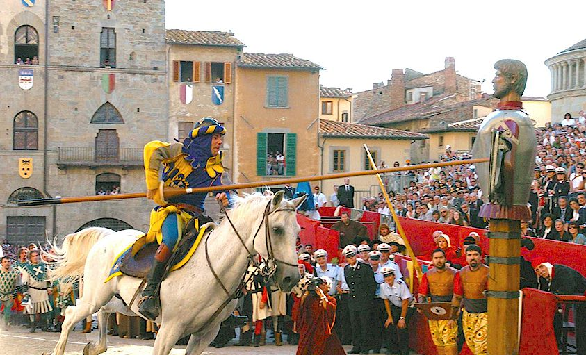 Giostra del Saracino (Joust of the Saracen) at Arezzo