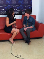 Greyson Chance press interview with MTV China