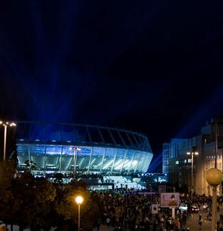 Olympic Stadium, general look, Kiev(Ukraine) |UEFA Euro 2012- Travel Europe Guide