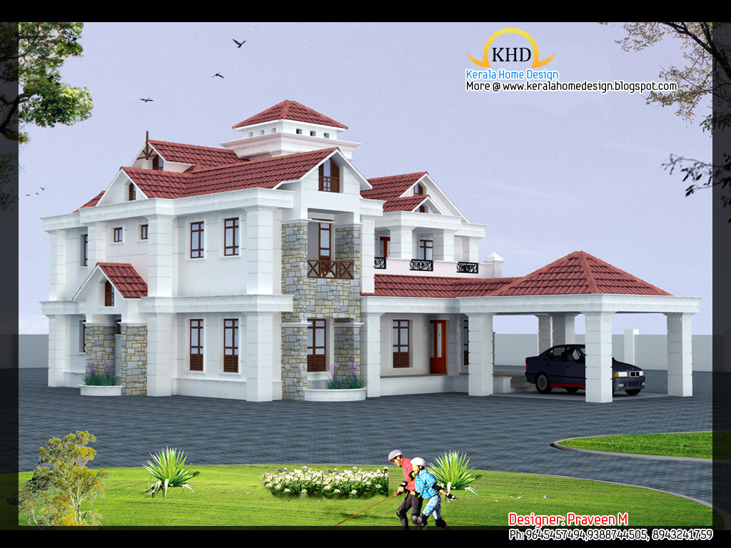Beautiful Luxury Villa Elevation 3669 Sq Ft