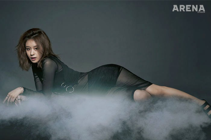 Jiyeon T-ara - Arena Homme Plus Magazine May Issue 2014
