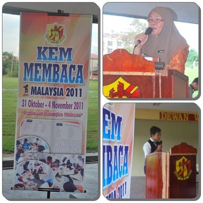SUMBER SMK BAGAN SERAI: Kem Membaca 1Malaysia 2011 Peringkat Sekolah