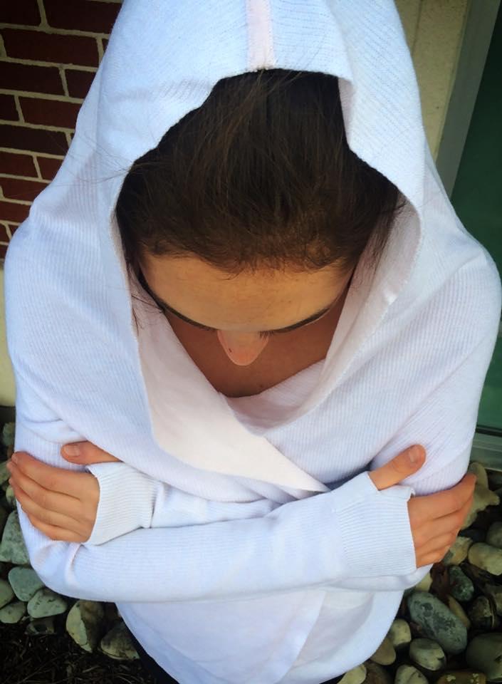 lululemon blush cabin yogi wrap