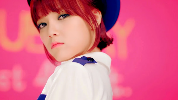 AoA Jimin Short Hair